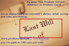 By-Your-Side Probate Services Edmonton, Alberta, Canada Classifieds