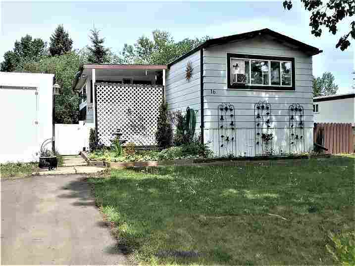 $33,900! 911 sq ft mobile. 2 beds, 1 bath, sun room - backs greenspace Edmonton, Alberta, Canada Annonces Classées