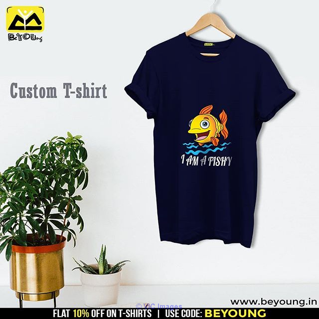 Best Custom T Shirt Printing Online India @ Beyoung